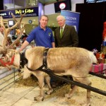 Photo Booth set up at the Quays Shopping Centre Newry as part of the filming for Farm Fixer, presented by Nick Hewer.